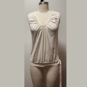 Stussy Girls Reversible Tie Tank – Ivory Size M